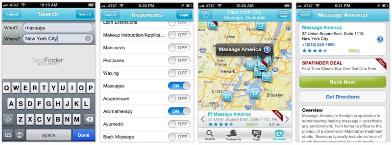 spafinder-skin-care-app